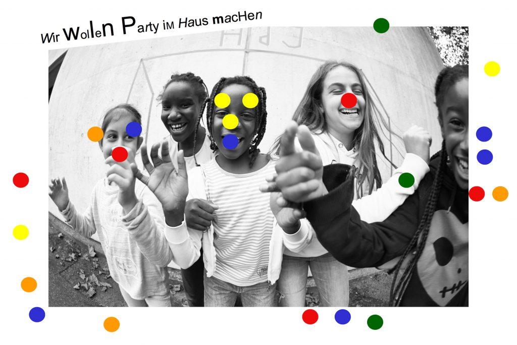 Wir sind Steilshoop - Party im Haus, Foto: Kristine Thiemann (2017)